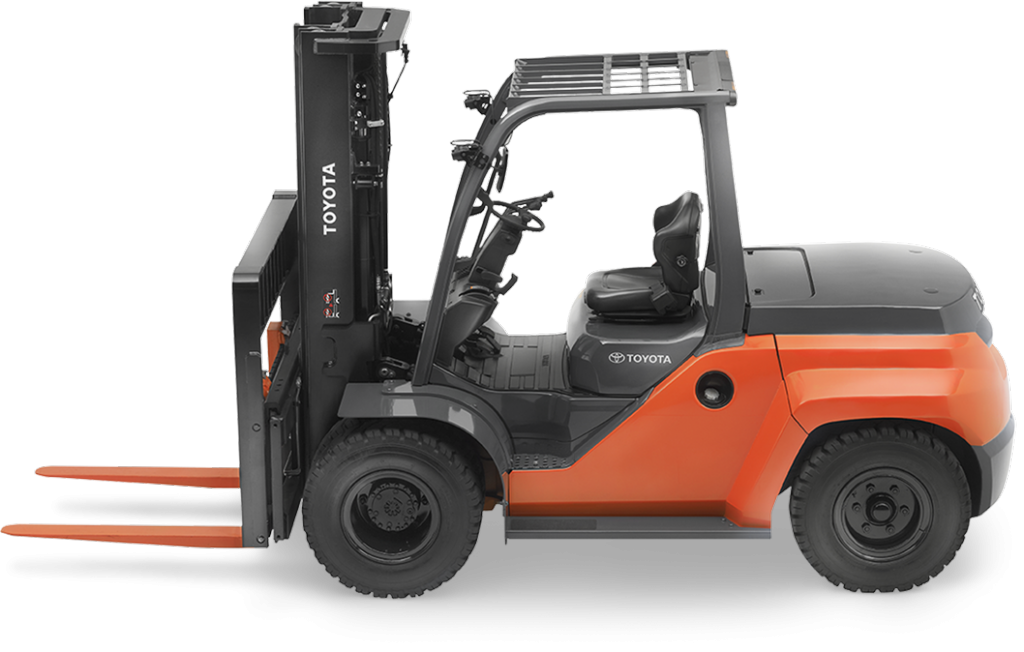 Large IC Pneumatic Forklift | All Terrain Outdoor Forklift | Toyota  Forklifts